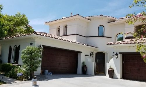Flawless exterior painting and trim