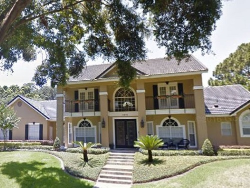 Exterior house painting by CertaPro painters in Windermere, FL