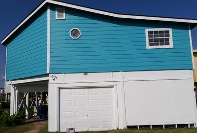 Residential Exterior Painting Project in League City