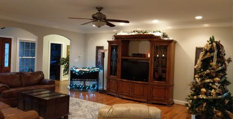 Interior Living Room House Painting – Paris, KY