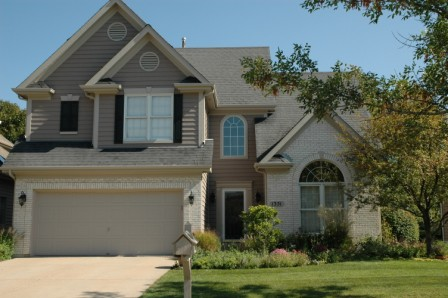 Exterior painting by CertaPro house painters in Lake Villa, IL