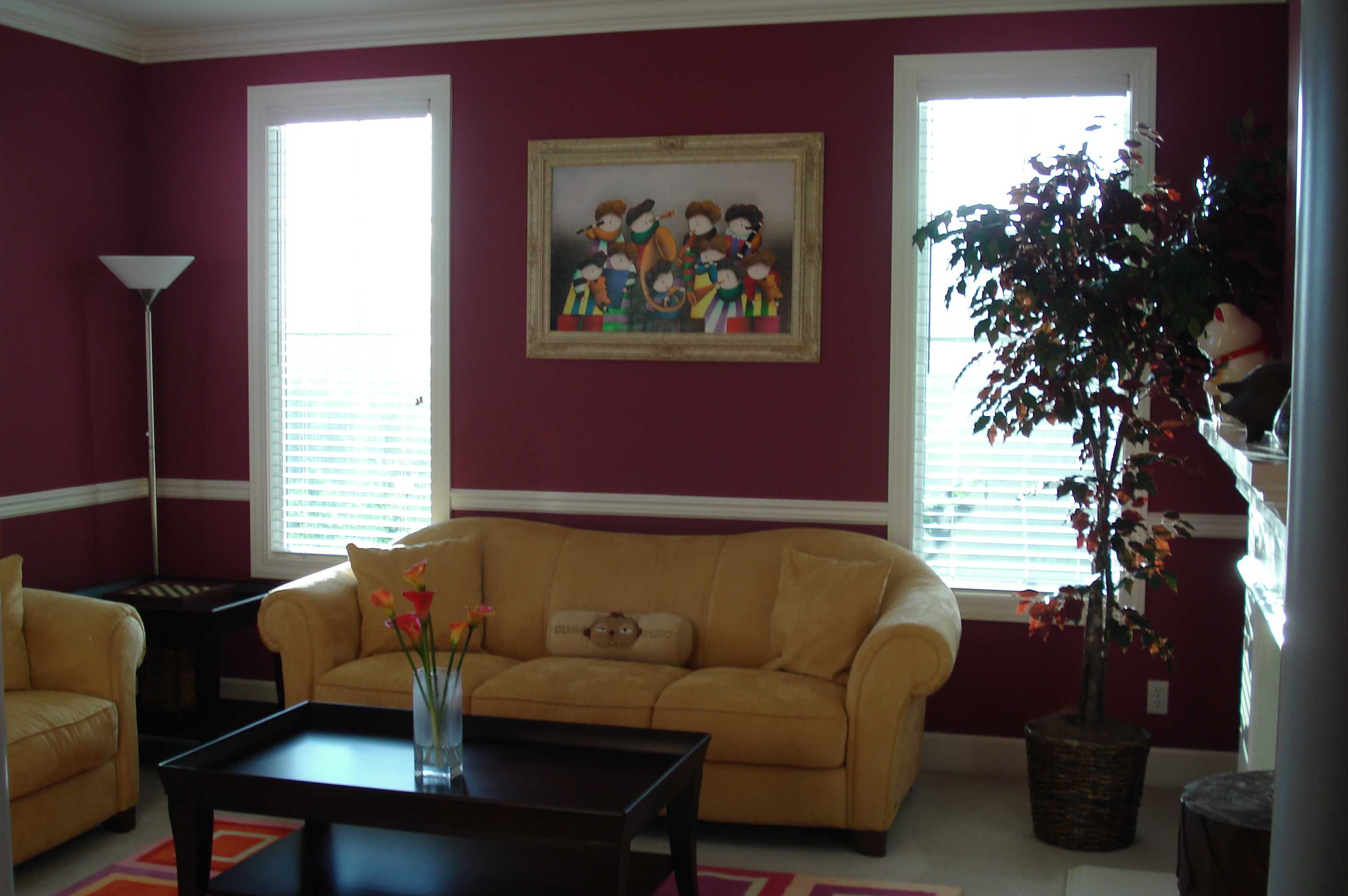 Interior painting by CertaPro house painters in Libertyvill, IL