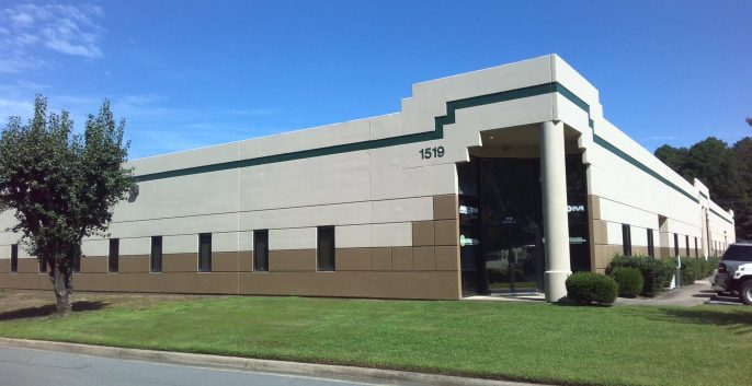 Commercial industrial warehouse painting by CertaPro painters in Little Rock, AR