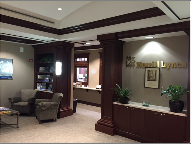 Commercial office painting by CertaPro painters in Little Rock, AR
