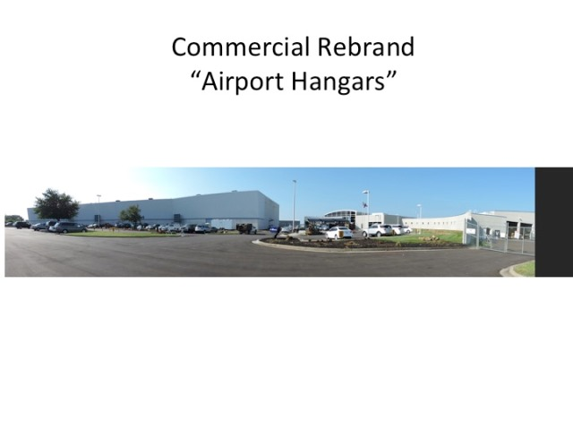 certapro painters of louisville repainted the hangers for atlanta aviation in louisville