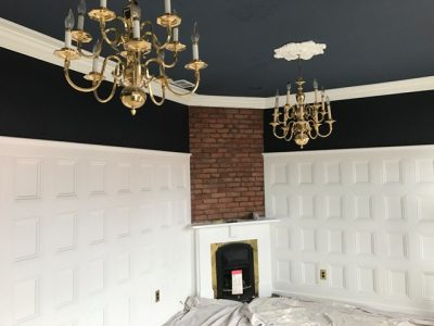 photo from an interior painting project in clifton ky 40206