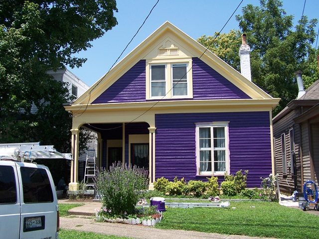 painted home in historic cherokee triangle louisville 40204