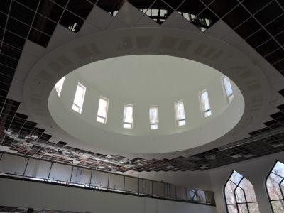 repainted mosque interior in louisville - certapro painters of louisville metro