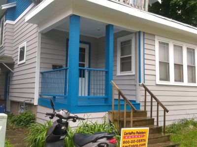 front porch painting project