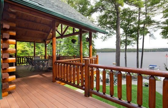 Check out our Log Home Staining
