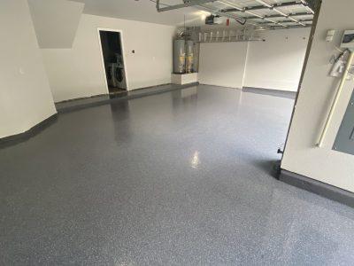 Garage Floor Painting Project in Allen
