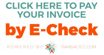 Pay your invoice by e-check