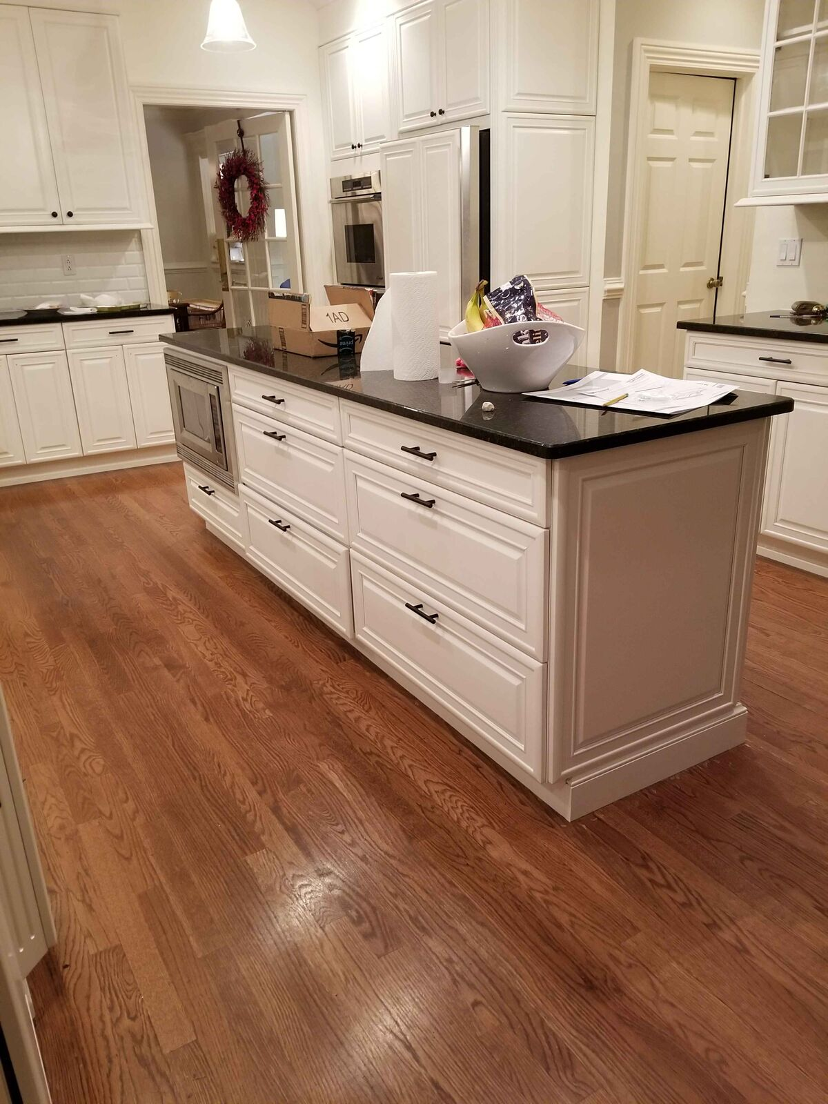 Interior kitchen cabinet painting - CertaPro Painters in Hopewell, NJ