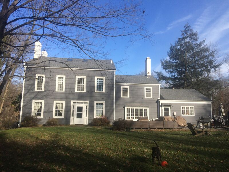 Exterior painting by CertaPro house painters in Monroe Township, NJ