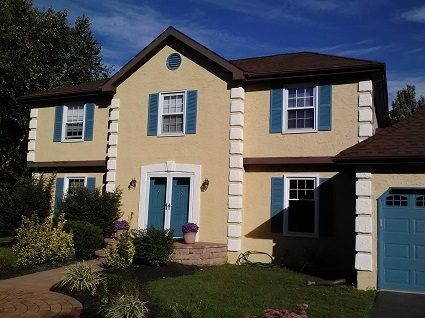 Exterior painting by CertaPro house painters in West Windsor and Plainsboro