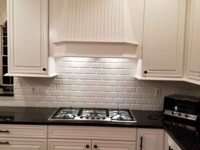 Interior kitchen cabinet painting by CertaPro house painters in Hopewell, NJ