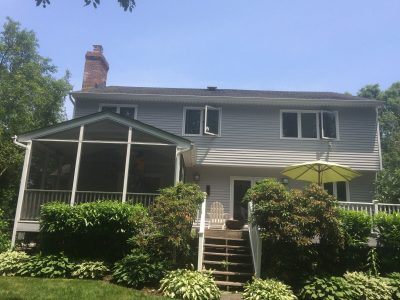 Exterior painting by CertaPro house painters in West Windsor, NJ