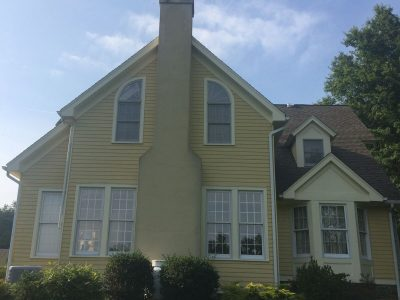 Exterior painting by CertaPro house painters in Lawrenceville, NJ