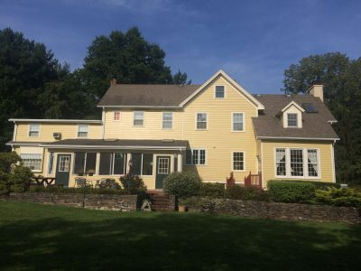 Exterior painting by CertaPro house painters in Plainsboro, NJ