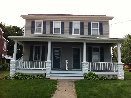 Exterior painting by CertaPro house painters in Hopewell, NJ