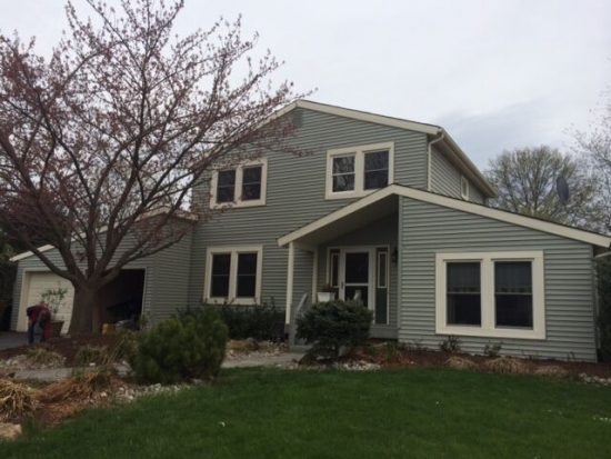 Exterior painting by CertaPro house painters in Pennington, NJ