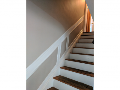 residential staircase railing painters baldwin ny