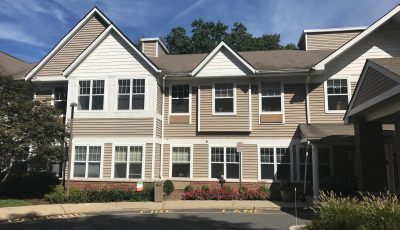 mill gardens assisted living commercial exterior painting