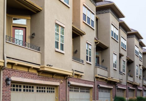 Townhouse Exterior Painting