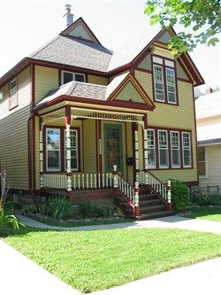 Exterior painting by CertaPro house painters in Milwaukee, WI