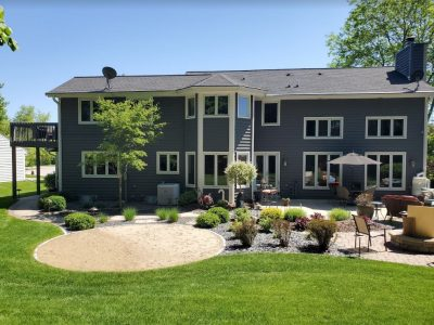 Exterior painting project in milwaukee