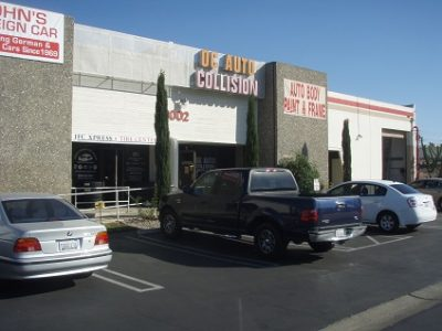 Commercial Auto Body Shop painting by CertaPro house painters in Mission Viejo < CA
