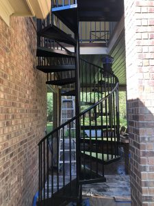 Painted Iron Stairs Copy After