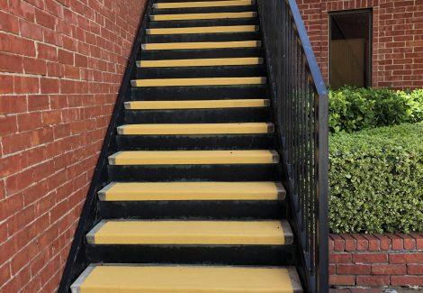 Exterior School Stairs in Houston