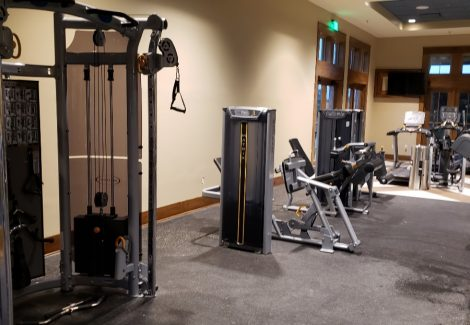 Commercial Gym Painting Project in Sienna