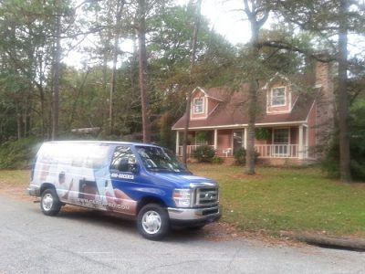 Exterior painting by CertaPro house painters in Daphne, AL