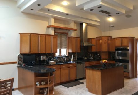Residential Kitchen Cabinet Painting