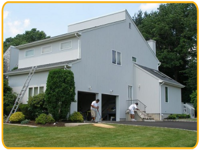 Exterior house painting by CertaPro painters in Morris County, NJ
