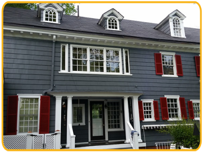 Exterior painting by CertaPro house painters in Union County, NJ