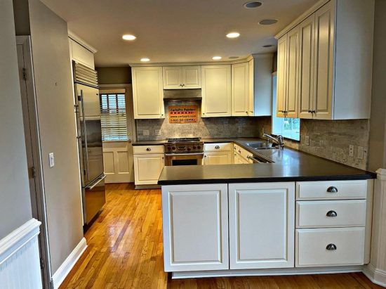 Kitchen cabinet painting in New Jersey