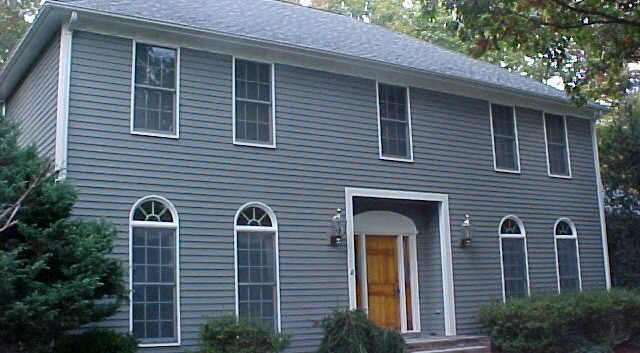 Exterior house painting by CertaPro house painters in Niantic, CT