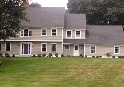 Exterior house painting by CertaPro house painters in Lyme, CT