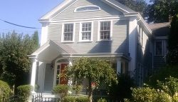 Exterior house painting by CertaPro house painters in Ledyard, CT