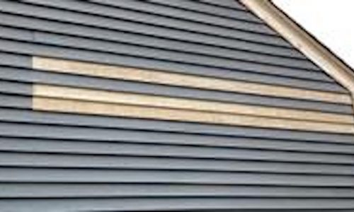 Painting Prep On House Exterior