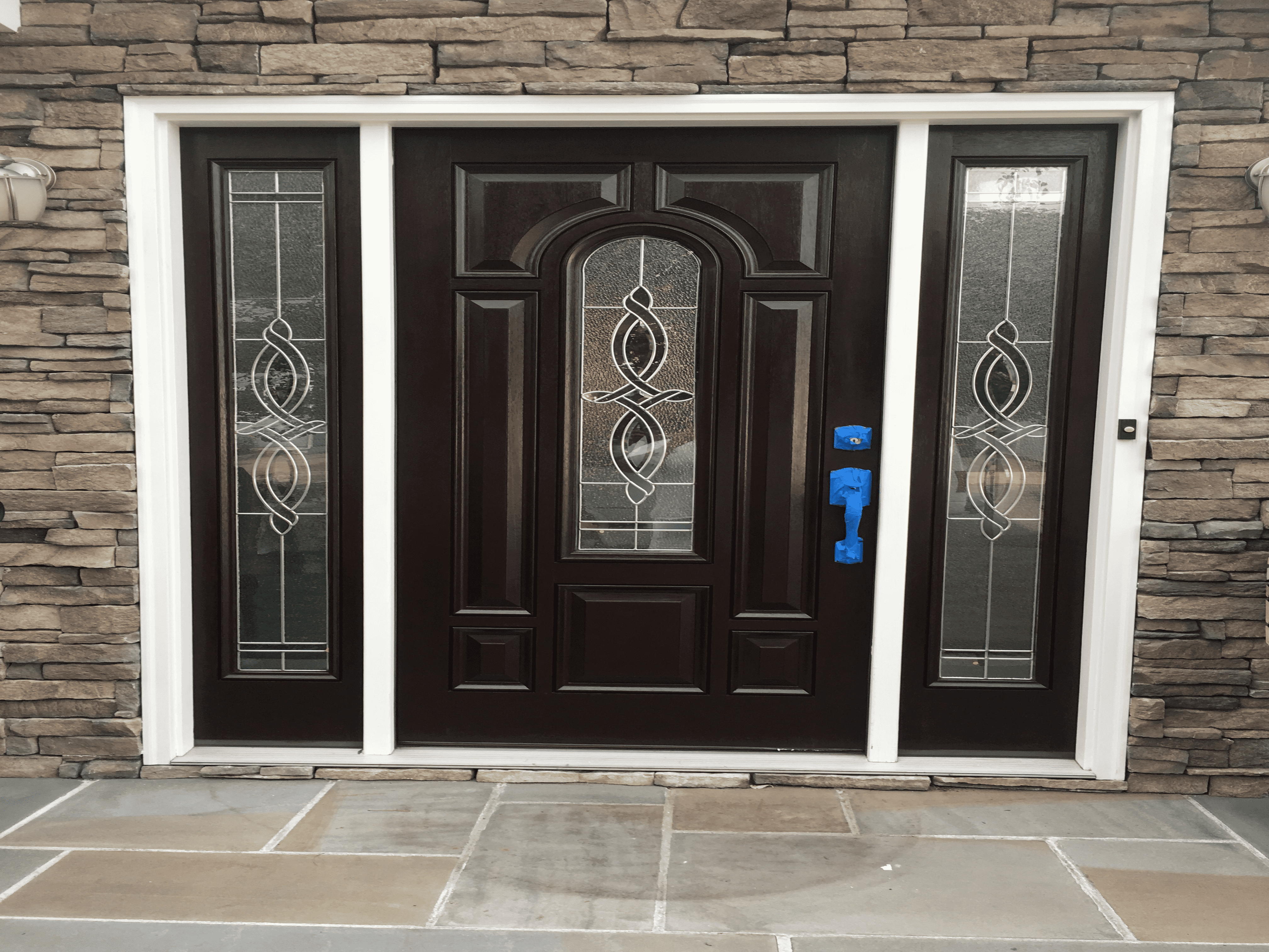 New Hyde Park, NY – Door Staining After