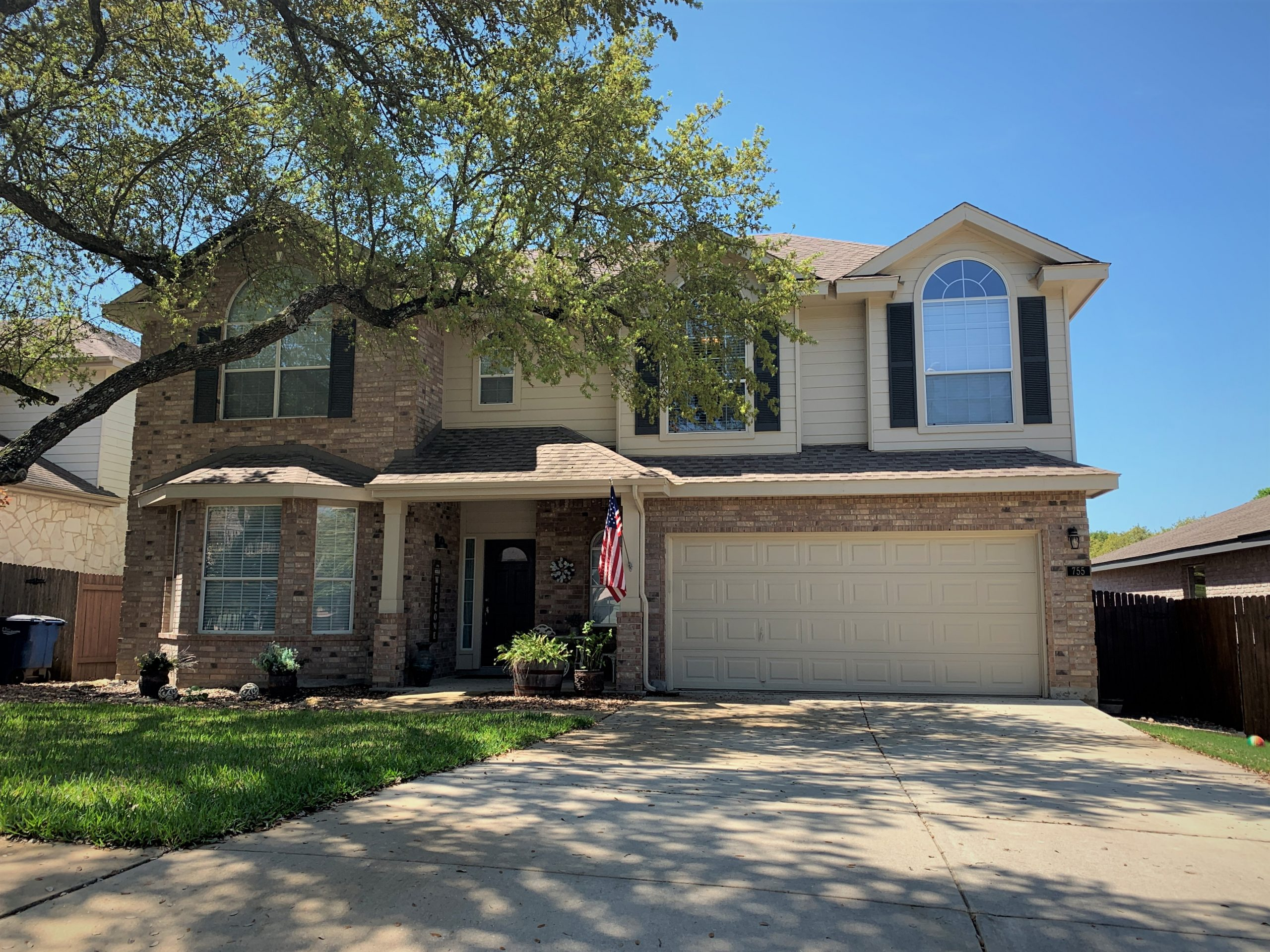 house painted in new braunfels by certapro painters of northeast san antonio