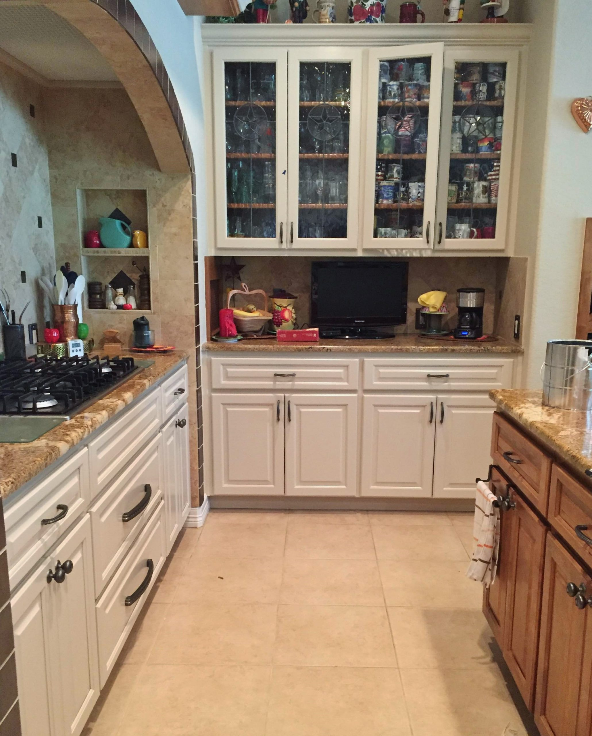 painting project in New Braunfels, Texas