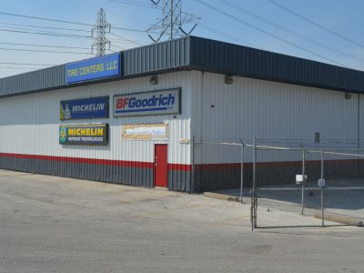 Commercial Retail Tire Center Painting Project