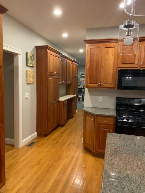 Kitchen Cabinet Repainting project