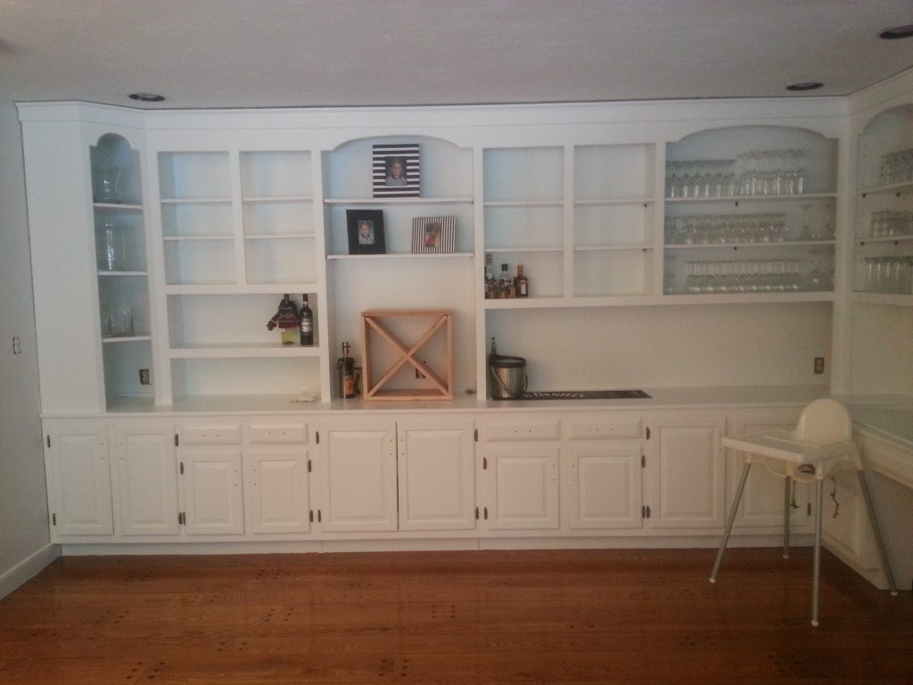 Cabinet Painting & Refinishing Project in Canton after photo