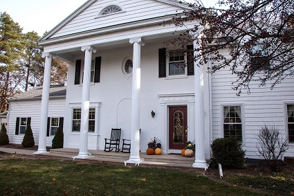 Exterior house painting by CertaPro painters in West Green Bay, WI
